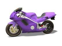 Motocicleta del deporte stock de ilustración