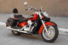 Motocicleta del interruptor Fotografía de archivo