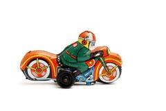 Motocicleta del juguete Fotos de archivo