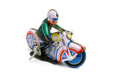 Motocicleta del juguete Fotografía de archivo libre de regalías