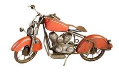 Motocicleta del juguete del vintage fotos de archivo libres de regalías