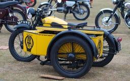 Motocicleta do AA imagem de stock
