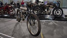 Motocicleta do gp do vintage Fotos de Stock