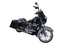 Motocicleta do interruptor inversor isolada imagem de stock royalty free