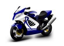 Motocicleta do vetor Foto de Stock Royalty Free