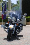 Motocicleta do xerife fotos de stock