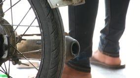 Motocicleta e entrada filme