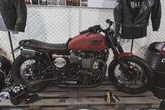 Motocicleta en la exhibición en EICMA 2014 en Milán, Italia Imagenes de archivo