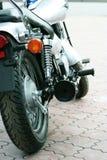 Motocicleta en la exposición. Foto de archivo libre de regalías
