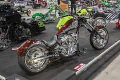 Motocicleta feita sob encomenda fotos de stock