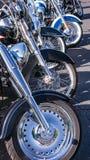 Motocicleta Front Wheels Foto de Stock