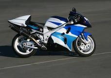 Motocicleta hermosa. Foto de archivo libre de regalías