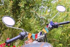 Motocicleta india Fotografía de archivo libre de regalías