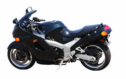 Motocicleta luxuosa Fotografia de Stock Royalty Free