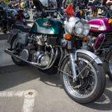 A motocicleta masca o Mammoth TTS 1200 Imagens de Stock