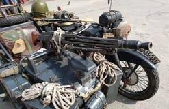 Motocicleta militar alemana imagenes de archivo