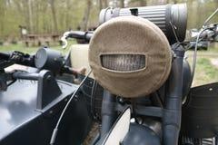 Motocicleta militar vieja Foto de archivo libre de regalías
