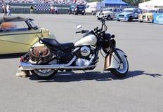 Motocicleta modelo retro Kawasaki VN800 1995 da liberação Foto de Stock