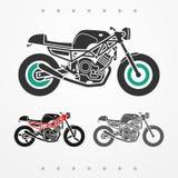 Motocicleta moderna del camino ilustración del vector