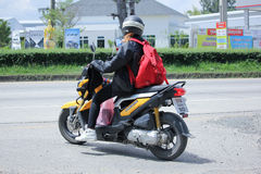 Motocicleta privada de Honda, Zoomer X Fotografia de Stock