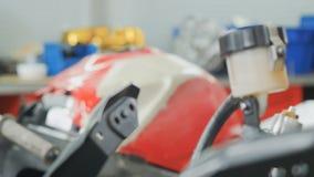 Motocicleta que desmonta metrajes