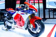 Motocicleta RC213 V-S Prototype de Honda Imagen de archivo libre de regalías