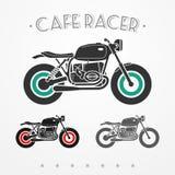 Motocicleta retra ilustración del vector