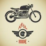 Motocicleta retra libre illustration