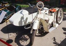 Motocicleta retra Marte A20 Fotografía de archivo