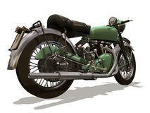 Motocicleta retro Ilustração Royalty Free
