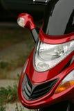 Motocicleta roja (moto) foto de archivo libre de regalías