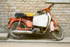 Motocicleta velha Foto de Stock