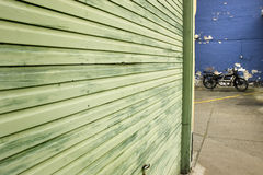 Motocicleta velha Fotos de Stock