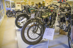 Motocicleta velha, bsa 1921 Inglaterra Imagem de Stock