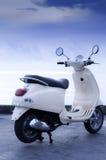 Motocicleta velha da forma Fotografia de Stock