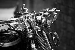 Motocicleta vieja Imágenes de archivo libres de regalías