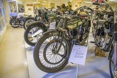 Motocicleta vieja, bsa 1921 Inglaterra Imagen de archivo