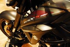 Motocicleta viva Imagens de Stock Royalty Free