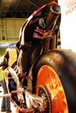 Motocicleta viva Imagem de Stock Royalty Free