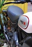 Motocicleta viva Imagem de Stock