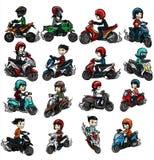 motocicletas Foto de archivo