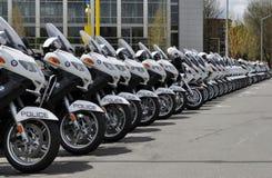 Motocicletas da polícia Imagem de Stock