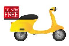 Motocicletta illustrazione vettoriale