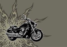 Motocicletta royalty illustrazione gratis