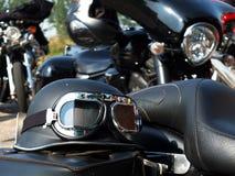 Motocicletta classica Fotografie Stock Libere da Diritti