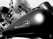 Motocicletta classica Immagini Stock