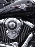Motocicletta classica Fotografie Stock