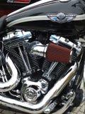 Motocicletta classica Immagine Stock