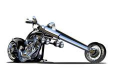 Motocicletta del fumetto di vettore royalty illustrazione gratis