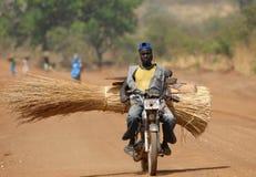 Motocicletta del Sudan Immagini Stock
